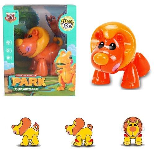 Развивающая игрушка крутилка Лев / Крутилка - Лев для малышей / Развивающий Лев