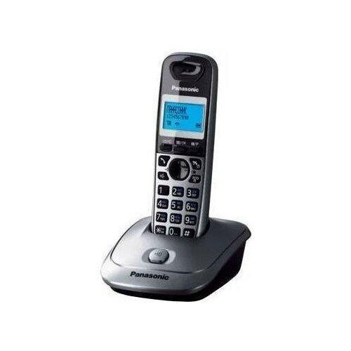 Радиотелефон Panasonic KX-TG2511 Серый металлик