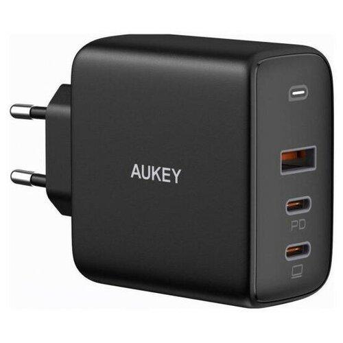 Фото - Сетевое зарядное устройство Aukey Omnia Mix 3 PD 90W PA-B6S (Black) сетевое зарядное устройство aukey travel charger pa u32 12w 2xusb a черное