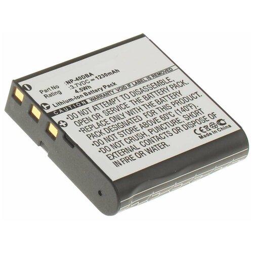 Фото - Аккумулятор iBatt iB-B1-F141 1230mAh для Casio NP-40 Casio, аккумулятор для фотоаппарата casio np 60