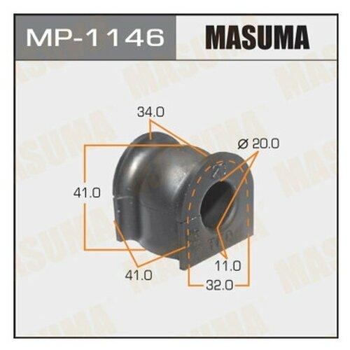 Втулка стабилизатора Masuma MP-1146 для Honda CR-V III,IV, Jazz III втулка стабилизатора 2 шт с кронштейнами перед cr v iii 07 12 honda 06510 sww 305