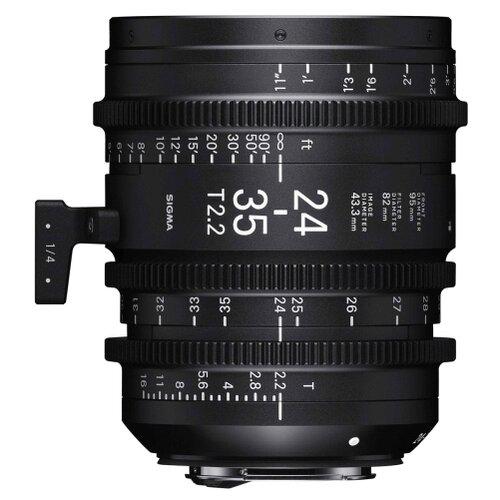 Фото - Объектив Sigma 24-35mm T2.2 FF CE (M) Canon EF черный sigma ud 11 для объективов canon ef m