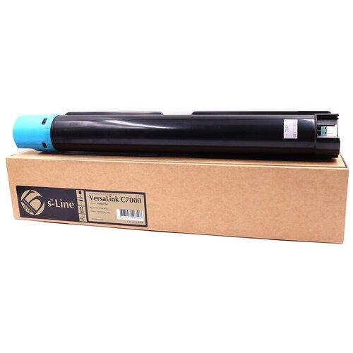 Фото - Тонер-картридж булат s-Line 106R03768 для Xerox VersaLink C7000 (Голубой, 10100 стр.) тонер с девелопером булат s line versalink c7000 m для xerox versalink c7000 банка пурпурный банка 160г