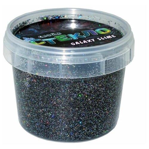Слайм Стекло серия Galaxy Slime, 100 гр, металлик, Слайм Стекло