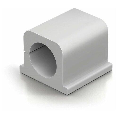 Фото - Фиксатор для кабеля до 12мм DURABLE CAVOLINE® CLIP PRO 2, антрацит, 4шт./уп. лента на липучке для фиксации кабеля durable cavoline grip 1000х20mm black 503201