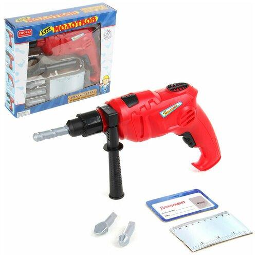 Фото - Набор Veld co 58858 Шуруповерт игрушечное оружие veld co набор полицейского 82550