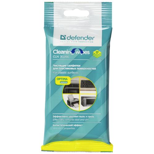 Фото - Defender Cleaning Wipes CLN 30200 Optima 38 уп. влажные салфетки 20 шт. салфетки чистящие defender eco cln 30320