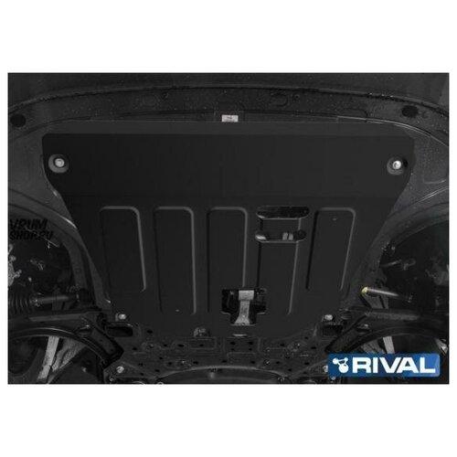 RIVAL 11128461 Защита картера и КПП Kia Seltos 2020-, V-2.0 полный привод/KIA Soul 2019-, V - 1.6, 1.6t, 2.0 недорого
