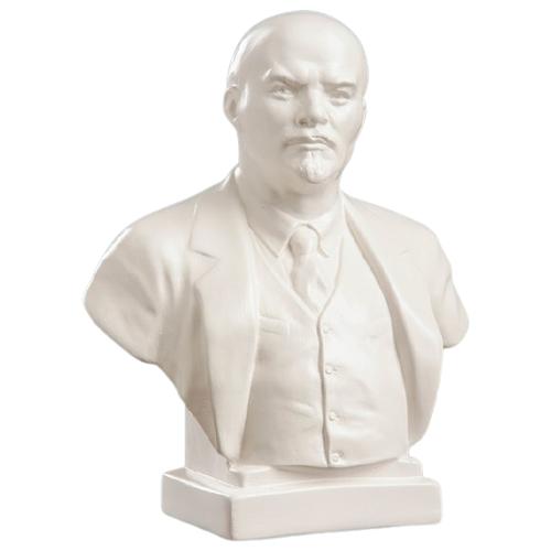 Статуэтка Хорошие сувениры Бюст Ленин, 18 см белый