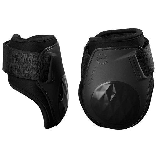 Фото - Задние ногавки для лошади 500 JUMP черные FS FOUGANZA X Декатлон скользящий повод из кожи romeo fs fouganza x декатлон
