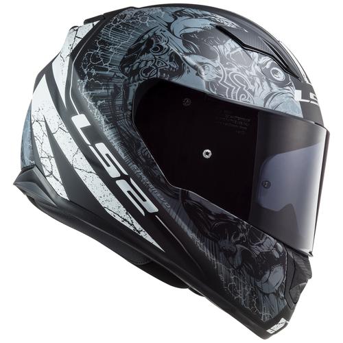 Шлем LS2 FF320 STREAM EVO THRONE (XXL, Matt Black Titanium)