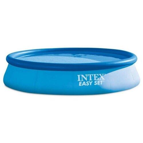 Фото - Надувной бассейн Intex (Интекс) Easy Set Pool с фильтр-насосом 1250л/ч (28108) бассейн intex intex easy set 244х61 см 1942 л фил насос 1250 л ч
