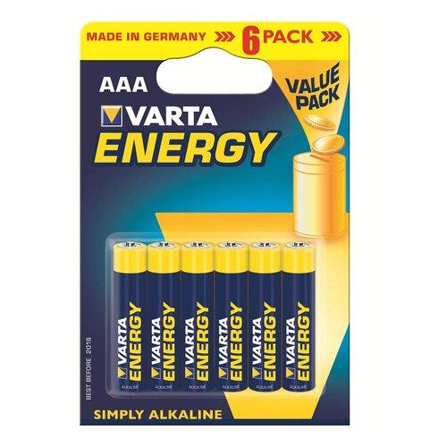 Фото - Батарейка VARTA ENERGY AAA бл 6 батарейка varta energy d lr20 бл 2