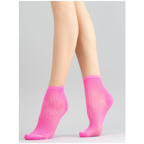Носки Giulia WS2 NEON PA 008 размер UNI, pink neon (Розовый)