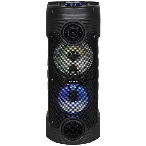 Минисистема Hyundai H-MC170 черный, 80 Вт/FM/USB/BT/SD/MMC