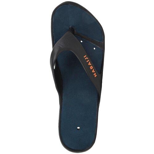 Сланцы для бассейна мужские 500, размер: 46/47, цвет: Черный NABAIJI Х Декатлон фото