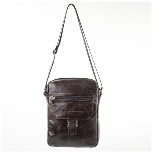 Мужская сумка-планшет Maxsimo Tarnavsky 1039 тёмно-коричневая