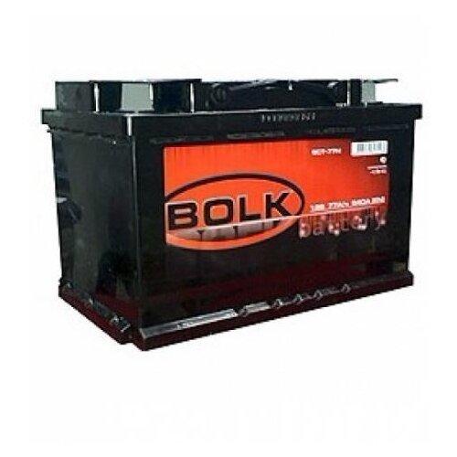 Автомобильный аккумулятор Bolk 75 А.ч Прямая полярность