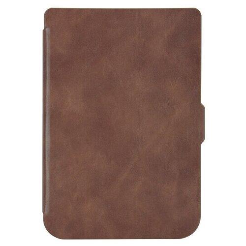 Чехол-обложка SkinBox Slim Case для Pocketbook 616/627/632 (коричневый)