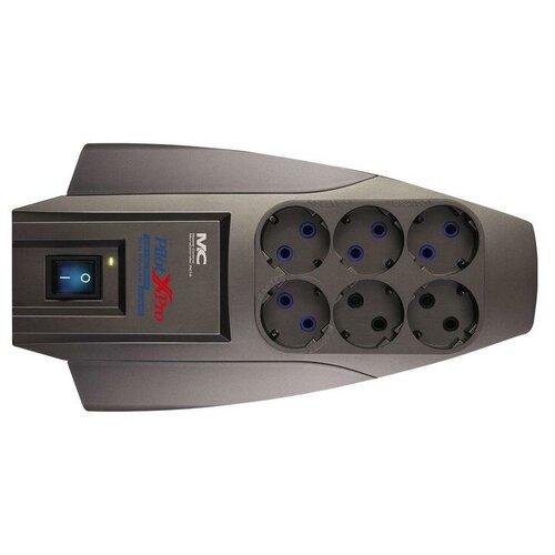 Фото - Сетевой фильтр Zis Pilot X-Pro 6 Sockets 7m 802474 сетевой фильтр zis pilot pro gp 6 sockets 7m grey