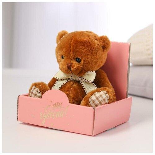 Milo toys Мягкая игрушка «Ты чудесна!», мишка, микс