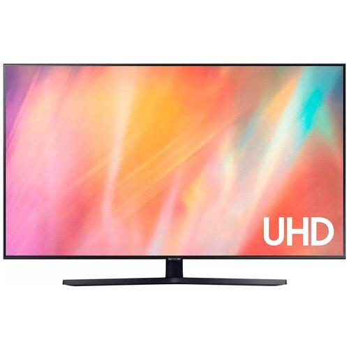Фото - Телевизор Samsung 55 серия 7 UHD 4K Smart TV 2021 AU7570 черный 4k uhd телевизор samsung ue75au8000uxru