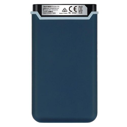 Фото - Портативный SSD Transcend ESD370C 500Gb, USB 3.1 G2, Type-C, TS500GESD370C портативный ssd transcend esd370c 500gb usb 3 1 g2 type c ts500gesd370c