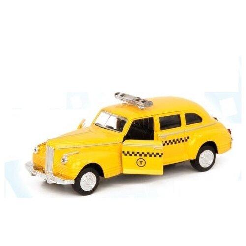 Металлическая легковая машинка Автопарк Зис-110, инерционная, такси