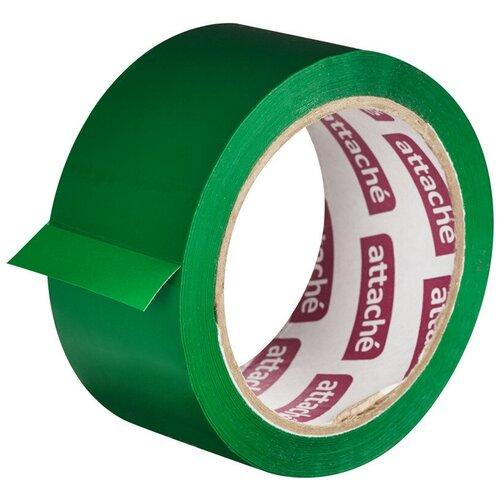 Фото - Клейкая лента упаковочная ATTACHE 48мм х 66м 45мкм зеленый 2 шт. клейкая лента коричневая unibob 48мм 66м 45мкм 6 шт в упаковке