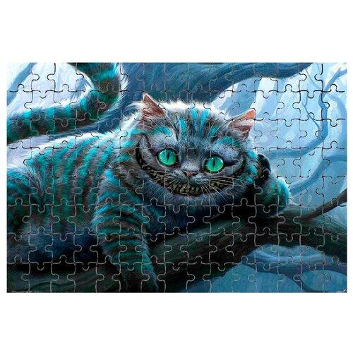 Магнитный пазл Чеширский кот