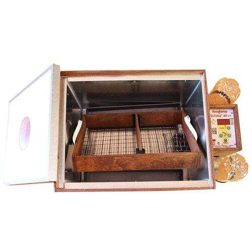 Инкубатор для яиц Блиц 48 цифровой на 48 яиц с автоматическим переворотом (12/220В) Арт. 23