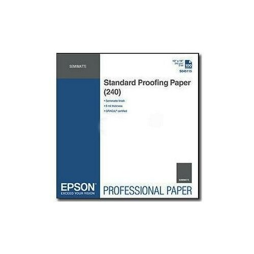 Фото - Epson C13S045115 Бумага Standard Proofing Paper 240 for A3+ (100sh) yct standard course 2 youth chinese test textbook for entry level primary school and middle school students from overseas