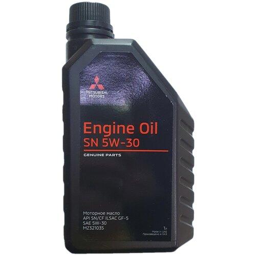 Фото - Синтетическое моторное масло Mitsubishi 5W-30 SN/CF, 1 л моторное масло mitsubishi genuine oil 5w 30 1л синтетическое [mz320756]