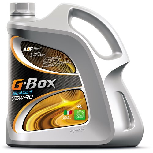 G-Box GL-4/GL-5 75W-90 (4 л) / трансмиссионное масло / синтетическое масло / API GL-5/API GL-4