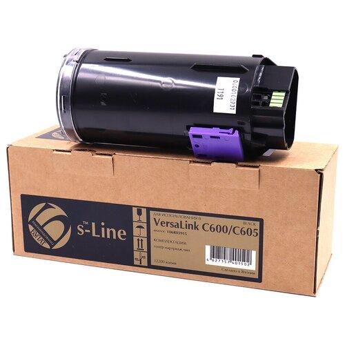 Фото - Тонер-картридж булат s-Line 106R03915 для Xerox VersaLink C600 (Чёрный, 12200 стр.) тонер картридж xerox 106r03915 черный