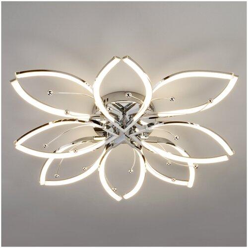 Потолочный светильник Eurosvet 90092/8 хром 96W