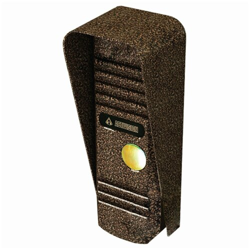 Видеопанель вызывная ACTIVISION AVC-305, разрешение 800 ТВл, угол обзора 75°, питание DC 12В, медь