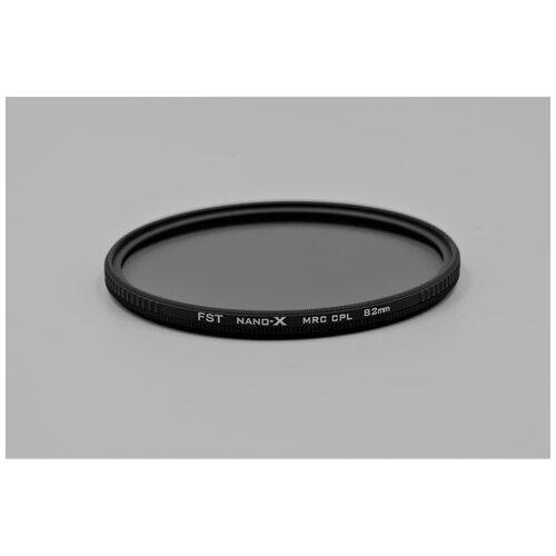 Фото - Поляризационный фильтр FST 82mm Nano-X CPL светофильтр green l поляризационный cpl 82mm