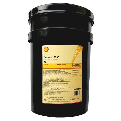 Shell Corena S3 R46 (20л) (550026559) компрессорное масло shell corena s4 p 100 20 л