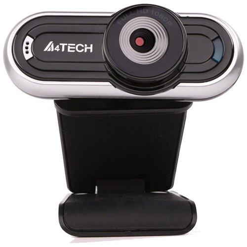 Камера Web A4Tech PK-920H-1 серебристый 2Mpix 1920x1080 USB2.0 с микрофоном