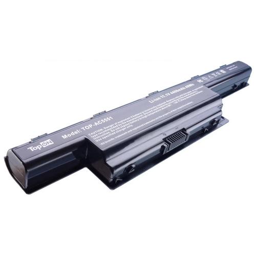 Аккумулятор TopON TOP-AC5551 для ноутбуков Acer совместим с AS10D31, AS10D3E, AS10D41, AS10D51