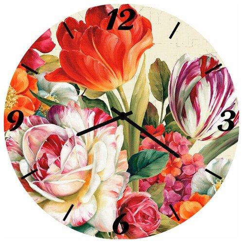 SvS Настенные часы SvS 4002857 Набор красивых цветов