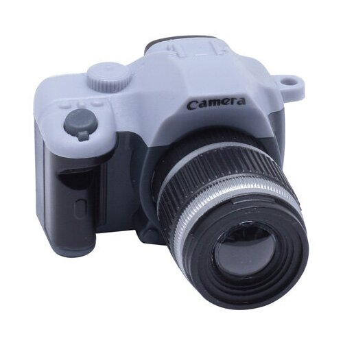 Фотоаппарат со вспышкой, 45*25*50мм (28363 серый)
