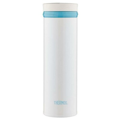 Термос для напитков Thermos JNO-500-PRW 0.5л. белыйголубой картонная коробка 934215