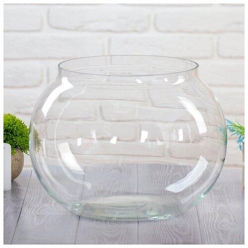 Фото - Ваза Шаровая d-25см, 36х27 см, 17л ваза шаровая d 14см 22х19см 5л 1001570