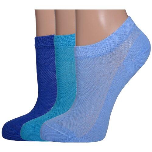 Комплект из 3 пар женских носков LORENZLine микс 1, размер 25 (37-38) комплект из 3 пар носков laredoute la redoute 35 38 синий