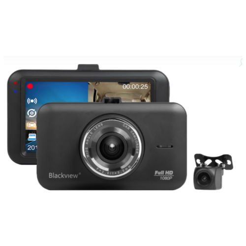 Автомобильный видеорегистратор Blackview R8 DUAL 2 камеры
