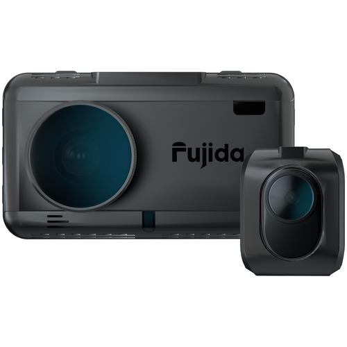 Видеорегистратор с радар-детектором Fujida Karma Duos S WiFi, 2 камеры, GPS, ГЛОНАСС, черный видеорегистратор с радар детектором ibox range laservision wifi signature dual 2 камеры gps глонасс черный