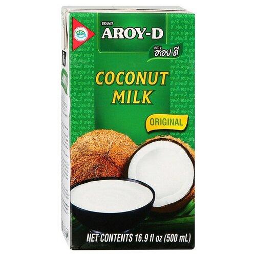 Фото - Молоко Кокосовое Aroy-D 70%, жирность 17-19%, 0,5 л aroy d масло 100% кокосовое extra virgin 0 18 л