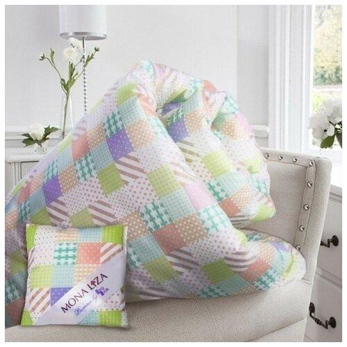 MONA LIZA Одеяло Lavender, размер 140 х 205 см, + саше с ароматом лаванды, тик